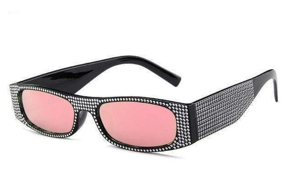 Roller Sunglasses Black Pink at Fashions Queen