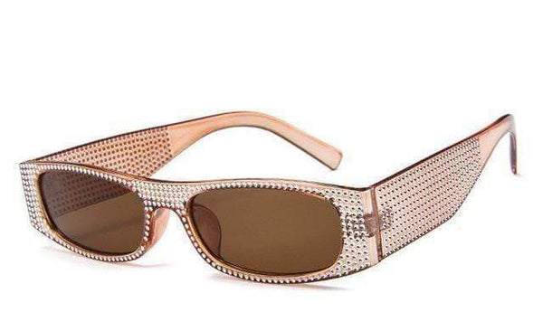 Roller Sunglasses Nude Brown at Fashions Queen