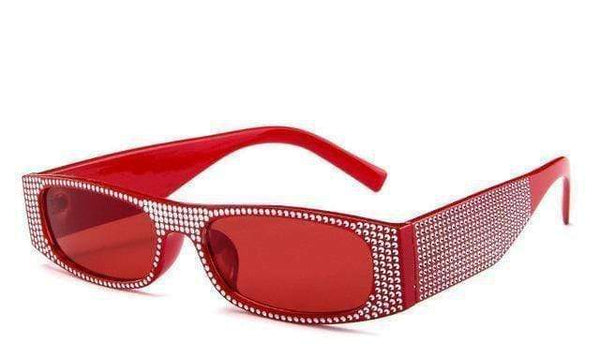 Roller Sunglasses Red at Fashions Queen