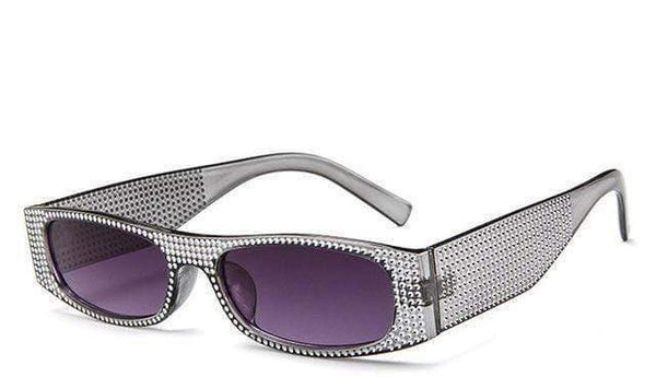Roller Sunglasses Silver Purple at Fashions Queen