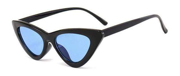 Stella Good Girl Sunglasses Black Blue Tint at Fashions Queen