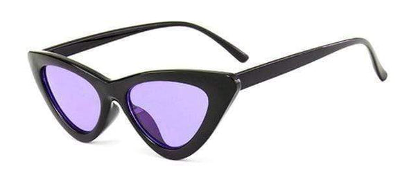 Stella Good Girl Sunglasses Black Purple Tint at Fashions Queen