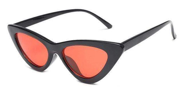 Stella Good Girl Sunglasses Black Red Tint at Fashions Queen