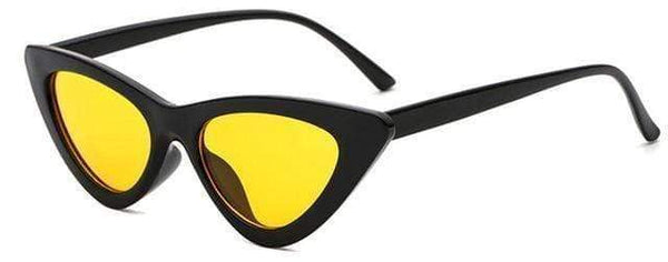 Stella Good Girl Sunglasses Black Yellow Tint at Fashions Queen