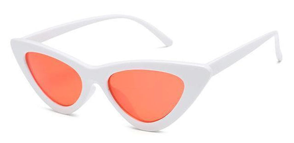 Stella Good Girl Sunglasses White Red Tint at Fashions Queen