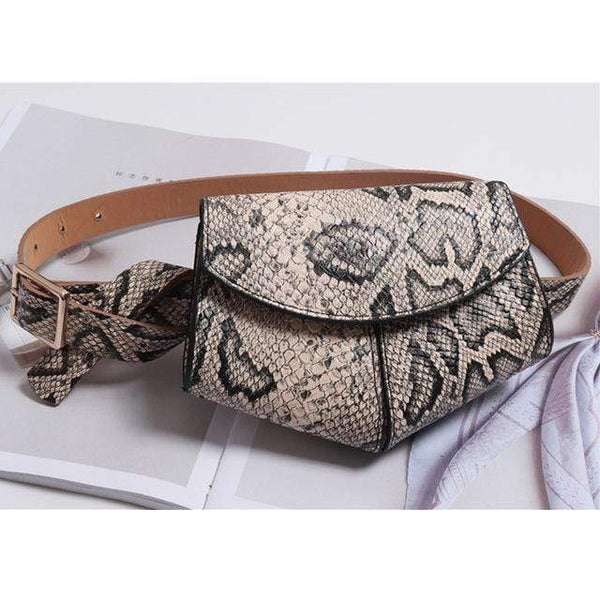 Tiffany Waist Belt fanny Packss Gold at Fashions Queen