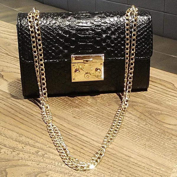 Tracy Crocodile Flap Handbags at Fashions Queen