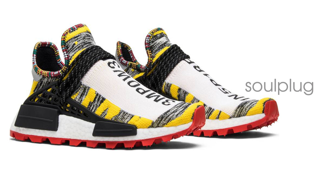 18c7f31a4 FOOTWEAR · CLOTHING · ACCESSORIES  Back. PHARRELL x NMD HUMAN RACE SOLAR  PACK  3MPOW3R  ...