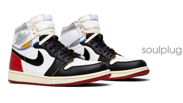 UNION X AIR JORDAN 1 RETRO 'BLACK TOE'