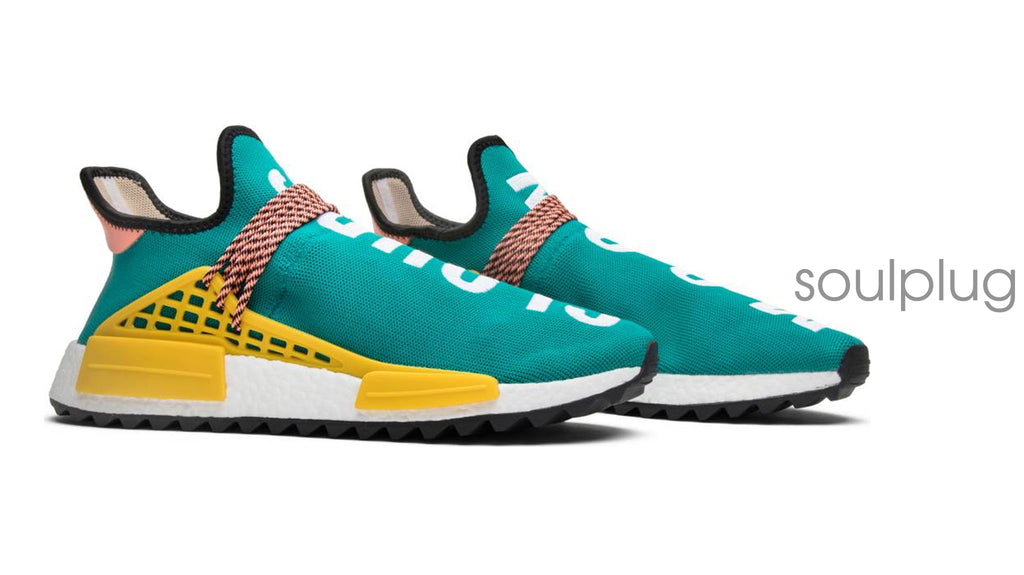 PHARRELL x NMD HUMAN RACE  'TEAL'