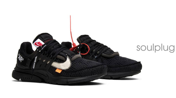 OFF-WHITE x Air Presto 'Black'