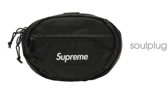 Supreme Waist Bag (FW18) Black