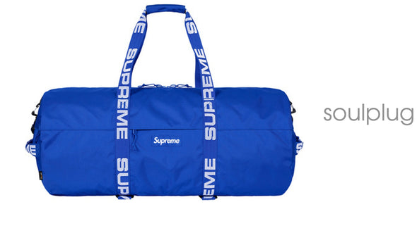 Supreme Duffle (SS18) Blue