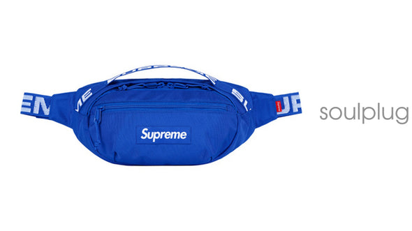 Supreme Waist Bag (SS18) Blue