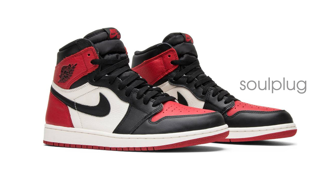 free shipping 3d2a4 f279e Air Jordan 1 Retro High OG  Bred Toe  – Soul Plug