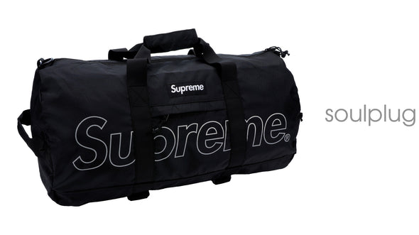 Supreme Duffle Bag (FW18) Black