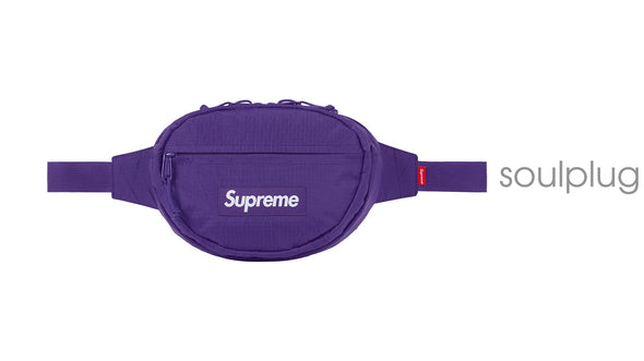 SUPREME WAIST BAG PURPLE
