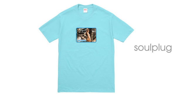 LARRY CLARK GIRL TEE 'BLUE'