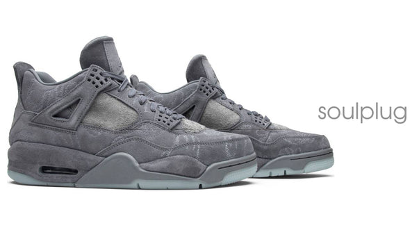 KAWS Air Jordan 4 Cool Grey