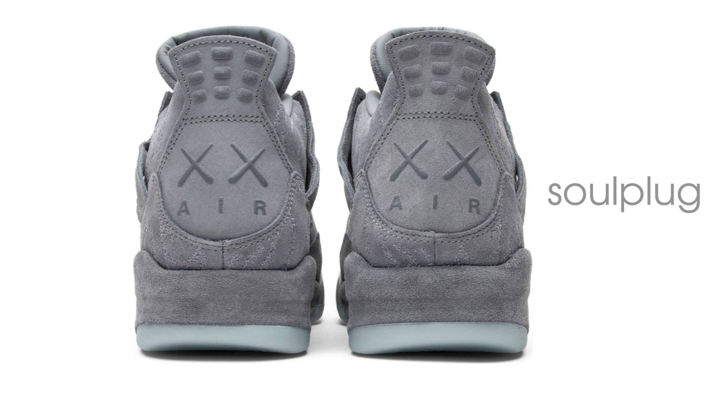ba23869020b KAWS Air Jordan 4 Cool Grey – Soul Plug