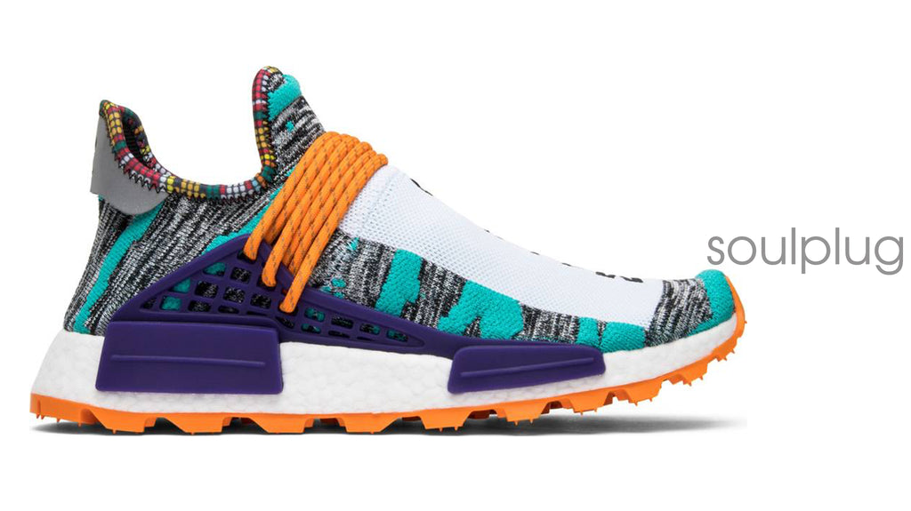PHARRELL x NMD HUMAN RACE SOLAR PACK 'ORANGE'