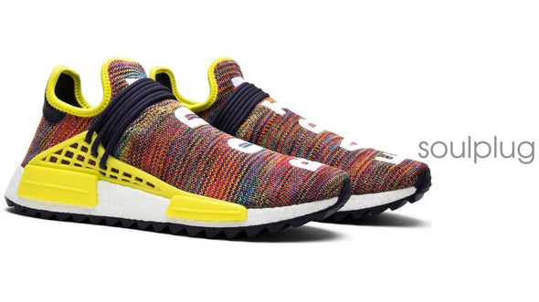 "PHARRELL x NMD HUMAN RACE  ""MULTI COLOR'"
