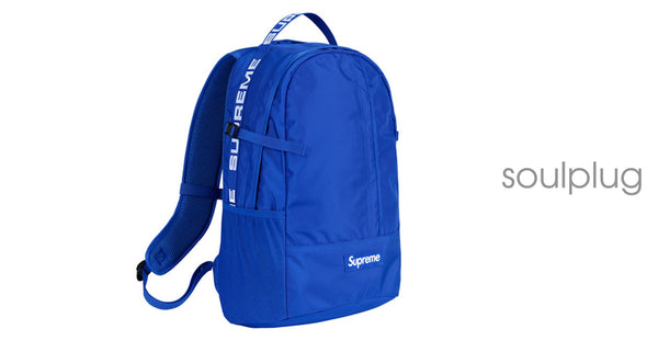Supreme Backpack (SS18) Blue