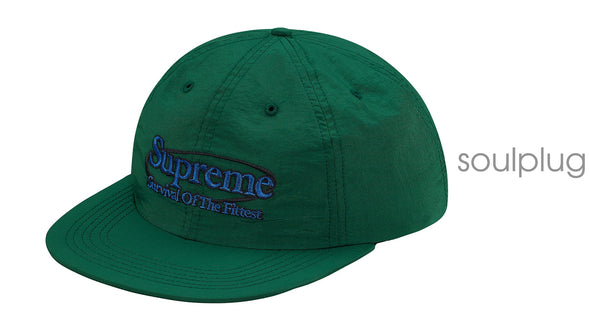 SUPREME SURVIVAL CAP DARK GREEN
