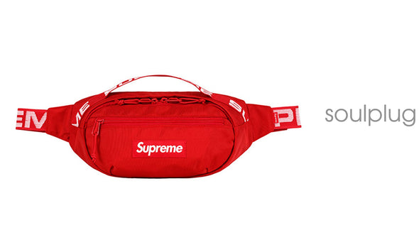 Supreme Waist Bag (SS18) RED