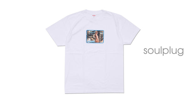 LARRY CLARK GIRL TEE 'WHITE'