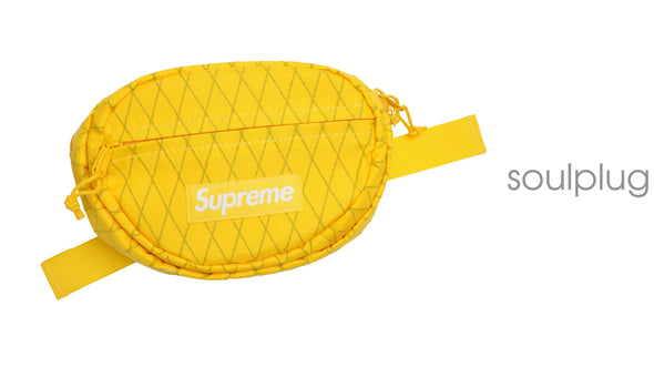 Supreme Waist Bag (FW18) Yellow