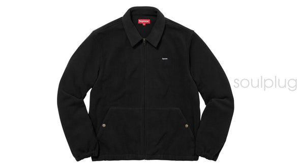 Supreme Polartec Harrington Jacket Black
