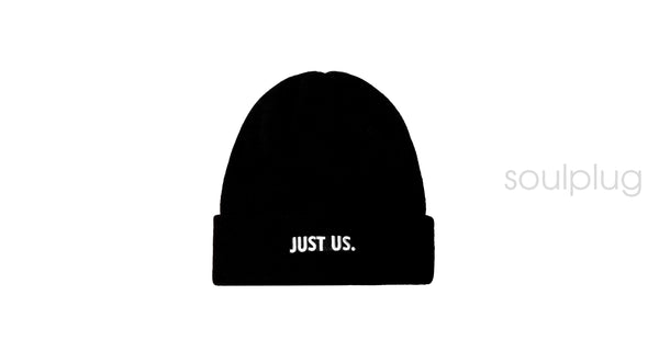 KITH X NIKE JUST US BEANIE 'BLACK'