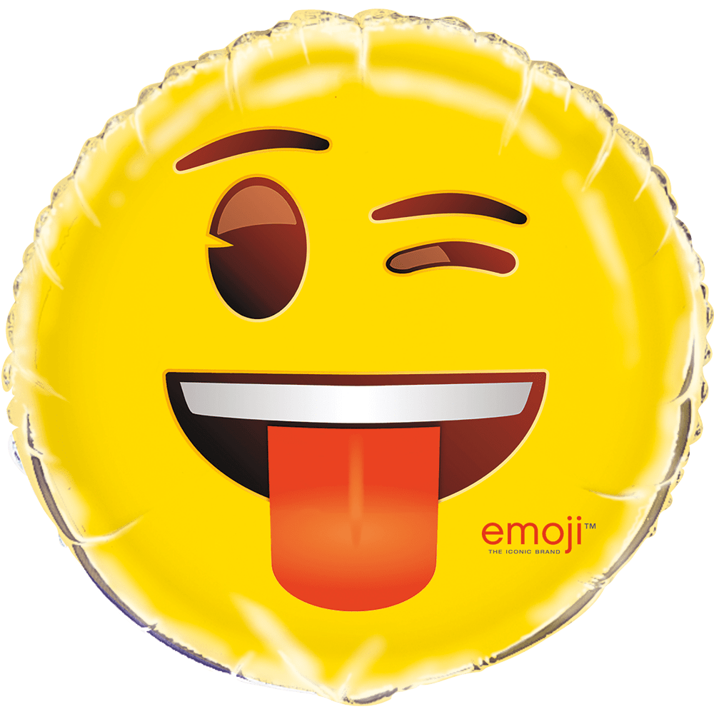 Folie ballon Emoji blinker