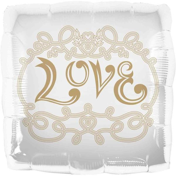 Folie ballon - Love - pudefacon - 46 cm