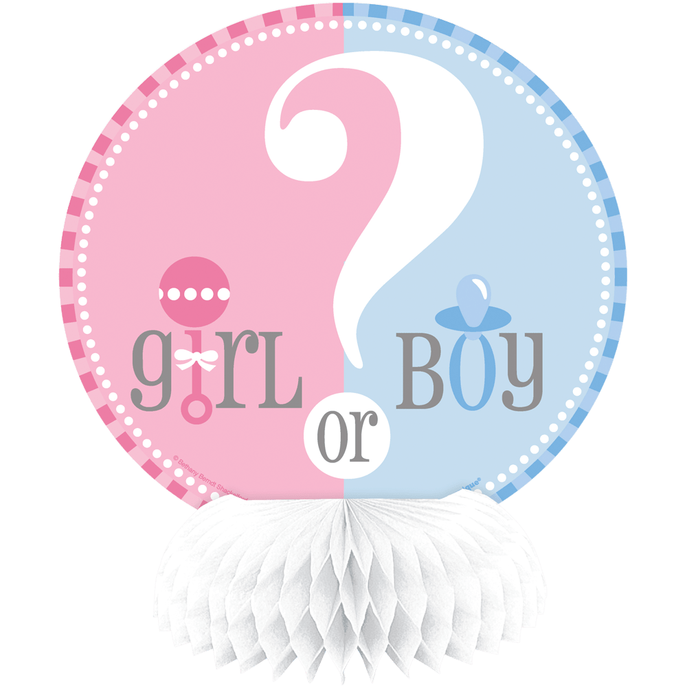 festorama – Honeycomb - baby shower - girl or boy - 15 cm - 4 styk fra festorama