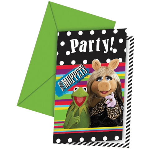 Invitationer muppets