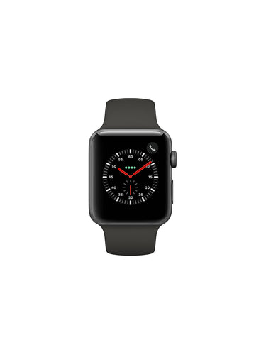 Apple Watch Series 3 - 42mm - Space Grey Aluminium Case with Black Sport Band