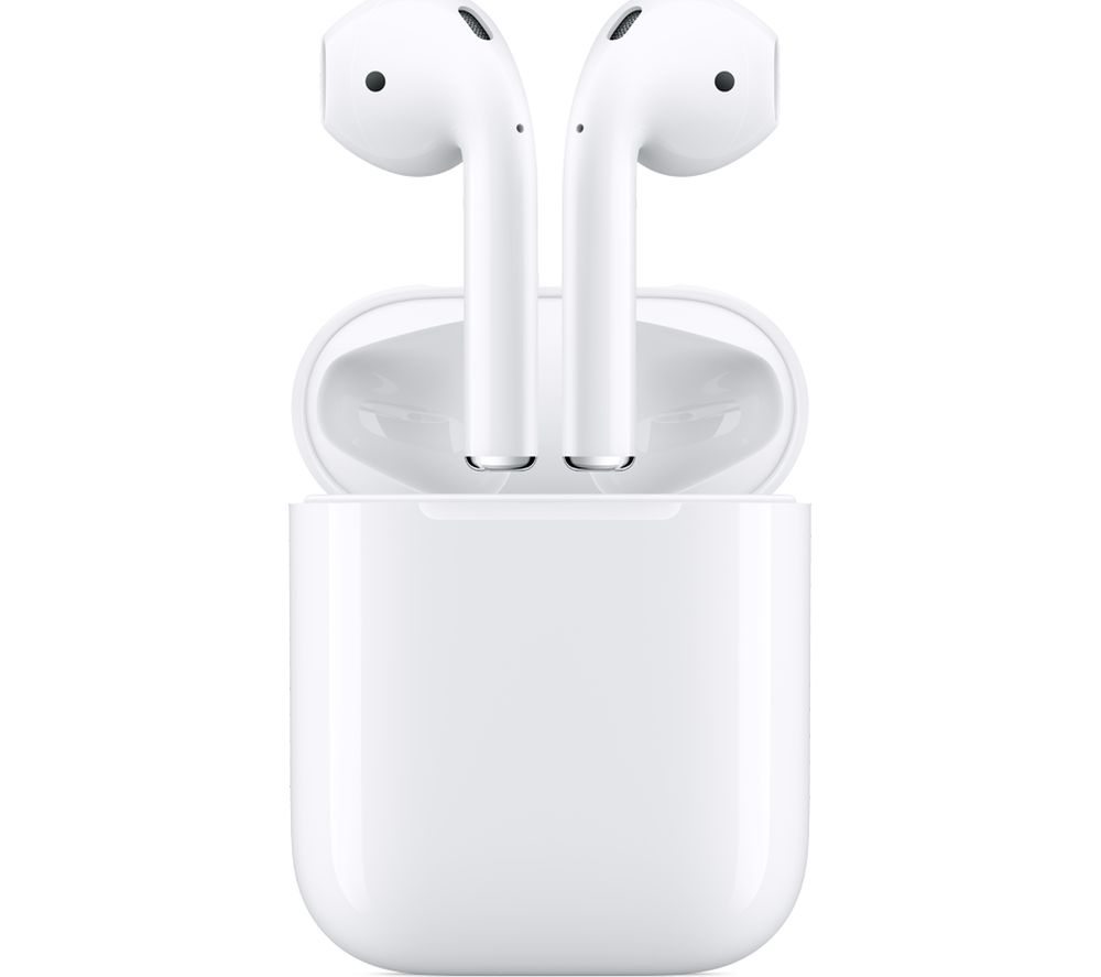 Apple AirPods 2nd Generation with Wireless Charging Case - White (Manufacturer refurbished)