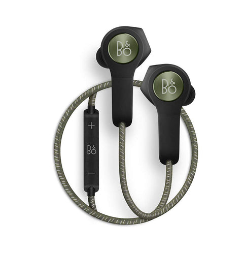 Bang & Olufsen Beoplay H5 Wireless Bluetooth Earbuds – Moss Green