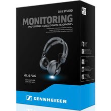 Sennheiser HD 25 Plus On-Ear DJ Headphones - Black