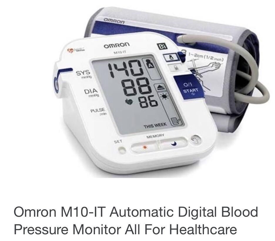 Omron M10-IT Automatic Digital Blood Pressure Monitor All For Healthcare