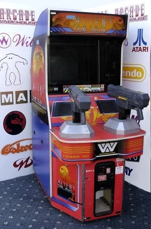 arcade game accessories light guns