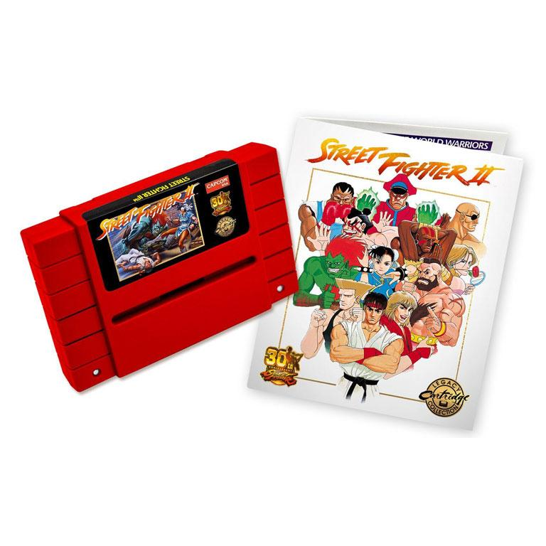 30th anniversary edition Street Fighter 2 cartridges
