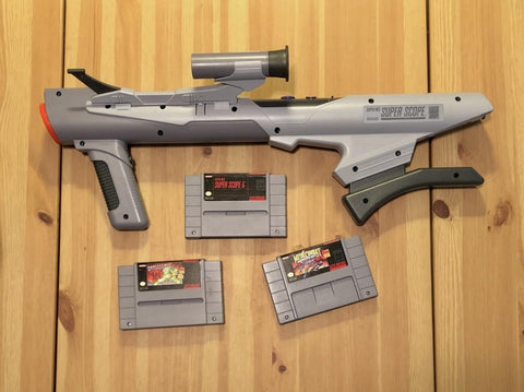 SNES-Super-Scope-light-gun