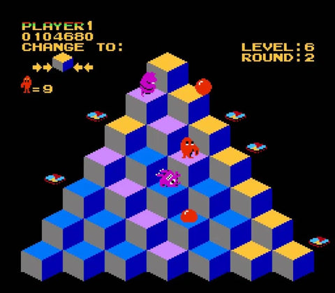 How Consoles Tried to Recreate the Magic of Arcade Games qbert