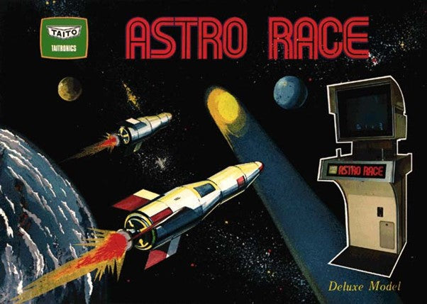 Astro Race, Taito's first launch as a games developer