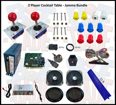 2 Player Cocktail Table- Jamma Bundle