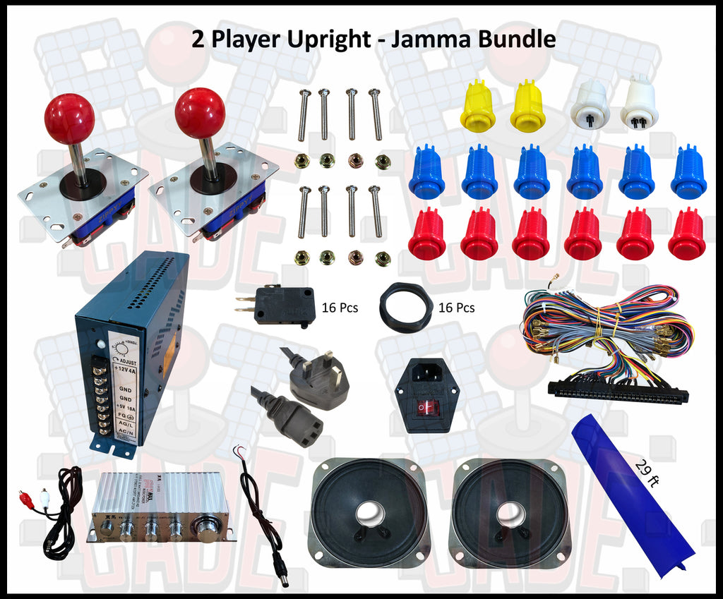 2 Player Upright - Jamma Bundle