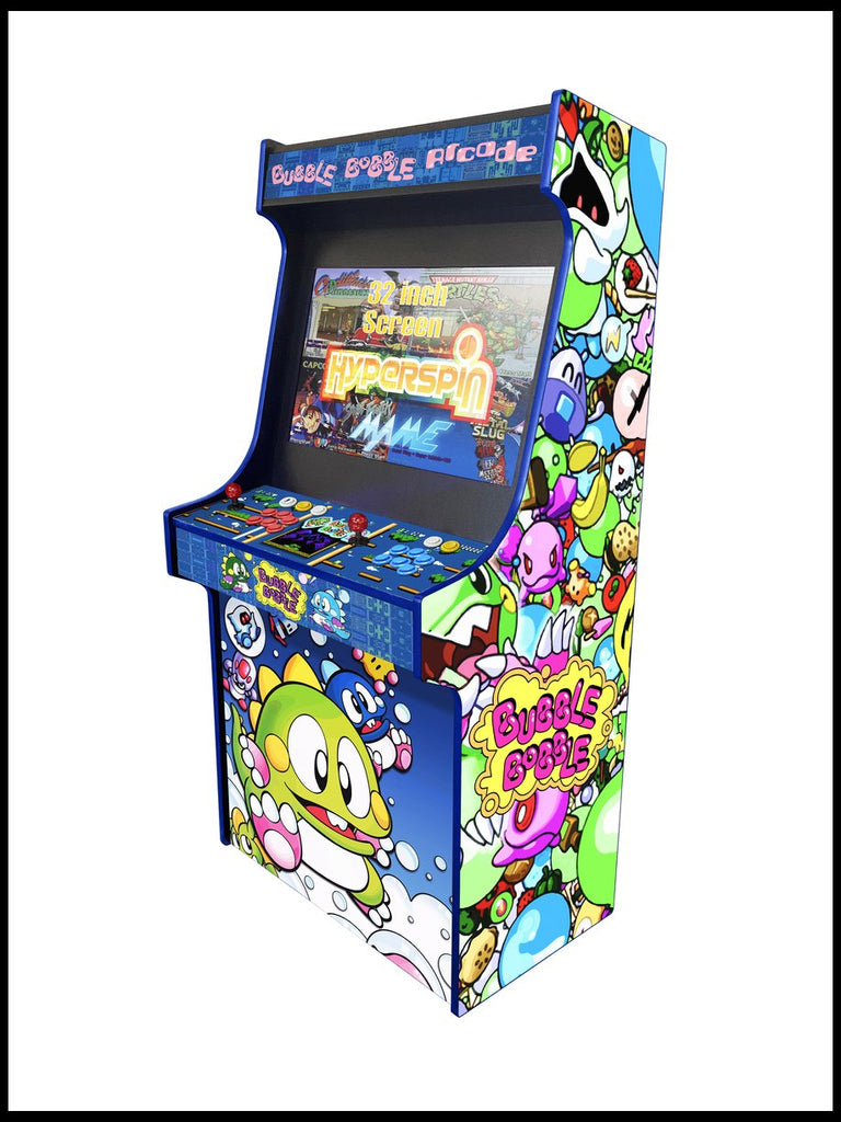 "Bubble Bobble -  'Hydra' 32"" Upright Arcade Machine"